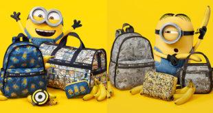 กระเป๋ามินเนี่ยนเบาสบาย Minion × LeSportsac ดีไซน์น่ารักน่าใช้มาก