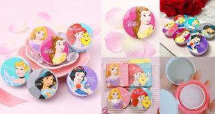 ว้าว!! ครีมน้ำหอมคุชชั่น Disney Pocket Perfume กลิ่นกายหอมชวนฝันแบบเจ้าหญิงดิสนีย์