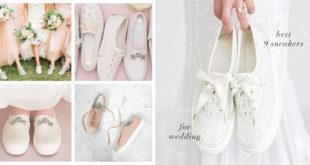 รวม 9 รองเท้าผ้าใบสำหรับเจ้าสาว สวยเลอค่า ในวันที่สำคัญที่สุด