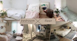 """20 ไอเดียแต่งห้องนอน """"เตียงติดพื้น"""" ดูดีมีสไตล์ จากไอจี self_interior"""