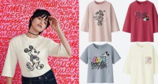 เสื้อยืดยูนิโคล่ 'LOVE & MICKEY MOUSE' ลายเส้นเท่ๆจาก Kate Moross