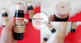 [แกะรีวิว] Revlon Photoready Insta Filter รองพื้นเนื้อแมตต์เบาๆ พร้อมฟองน้ำในตัว