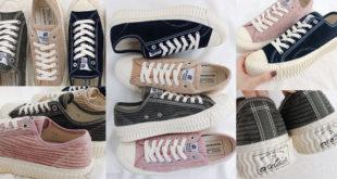 รองเท้าผ้าใบบิสกิต BOLT Corduroy Low วินเทจร่วมสมัย สายคูลต้องมี !!