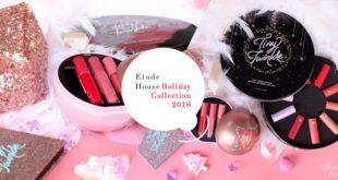 [แกะกล่องรีวิว] เมคอัพคอลเลคชั่น Tiny Twinkle Ornament รับคริสต์มาส 2018 จาก Etude House