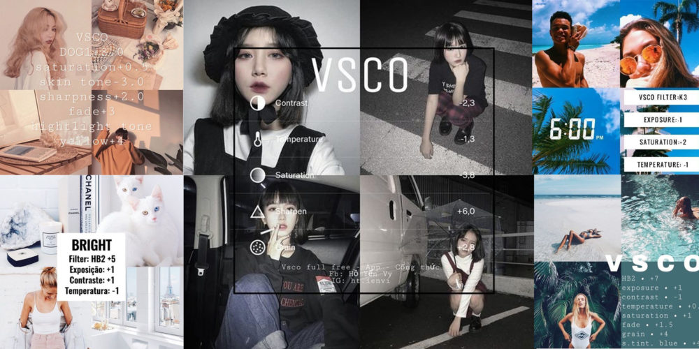 VSCO รูปสวยคุมโทนในแอปเดียว