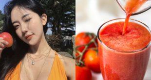 โปรแกรมลดน้ำหนัก Night Tomato Diet ทานมะเขือเทศก่อนนอน หุ่นเป๊ะผิวสวยปัง