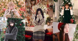 20 ไอเดียถ่ายรูปคู่กับไฟประดับและต้นคริสต์มาสช่วงสิ้นปี #CuteXmas