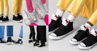 ไอเทมสตรีทสายแบ๊ว Converse x Hello Kitty กลับมาทวงบัลลังก์แล้ว!