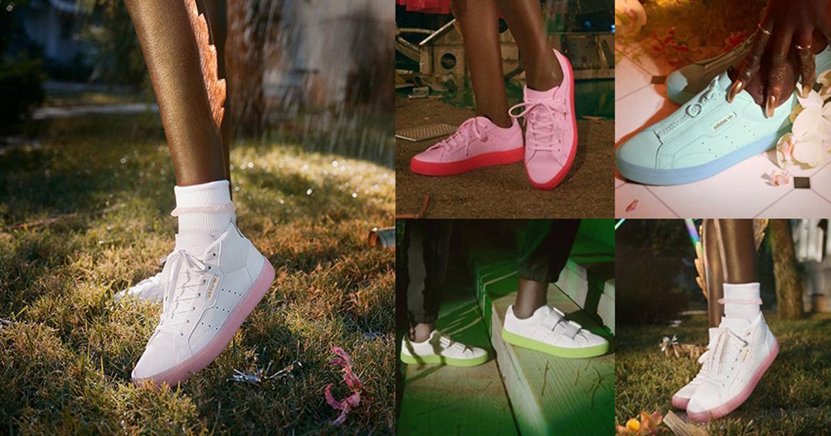 สนีกเกอร์พาสเทลAdidas SleekShoes ไอเทมสดใสรับซัมเมอร์นี้!!
