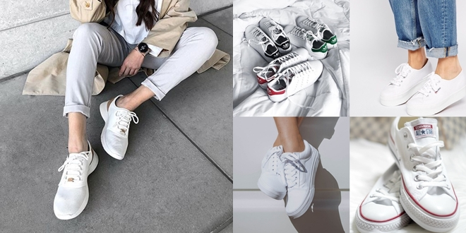 10 รองเท้า 'สนีกเกอร์สีขาว' สุดคลาสสิกแห่งปี 2019 ใส่เก๋ๆ อีกสิบปีก็ไม่เอาท์!