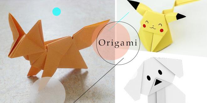 20 วิธีพับกระดาษโอริกามิแบบน่ารักๆ พับตามง่ายมีวิธีสอนทุกขั้นตอน!