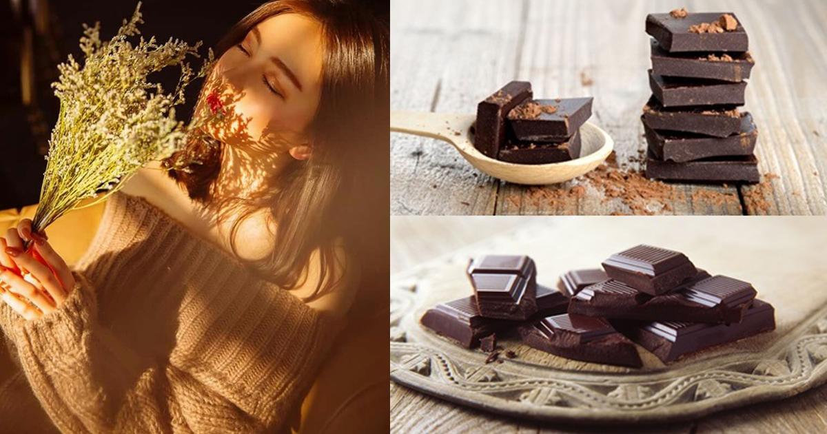 5 ประโยชน์ของดาร์กช็อกโกแลต ยิ่งทานยิ่งดีต่อสุขภาพ