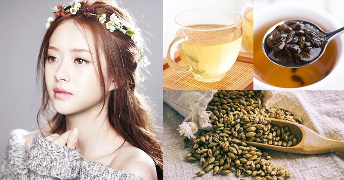 5 ประโยชน์ของชาข้าวบาร์เลย์ ลดบวมน้ำ ผิวสวยสุขภาพดี