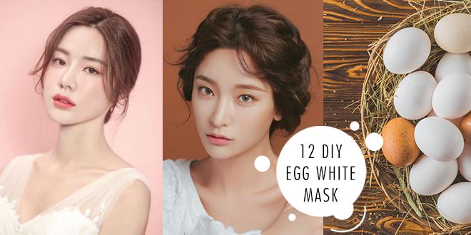 เปิด 12 สูตร DIY มาสก์ไข่ขาว ผิวกระจ่างใสจากของในครัว