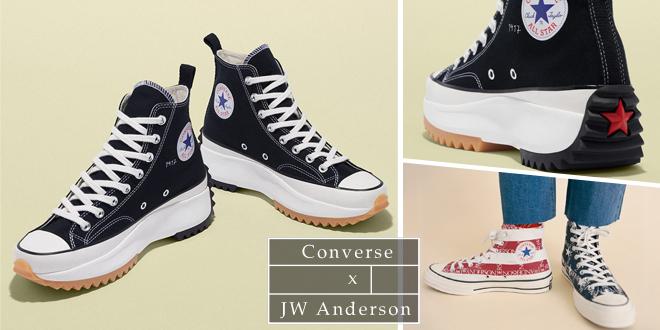 ออกใหม่! Converse x JW Anderson มิกซ์แอนด์แมทช์สไตล์คลาสสิก