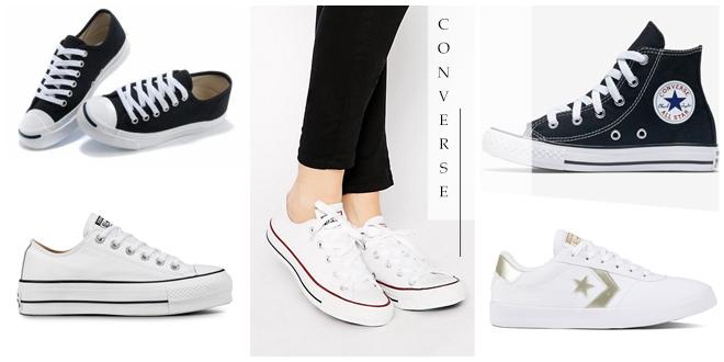 รวม 5 รองเท้าผ้าใบ Converse รุ่นยอดฮิตที่ต้องมีไว้ในครอบครอง!