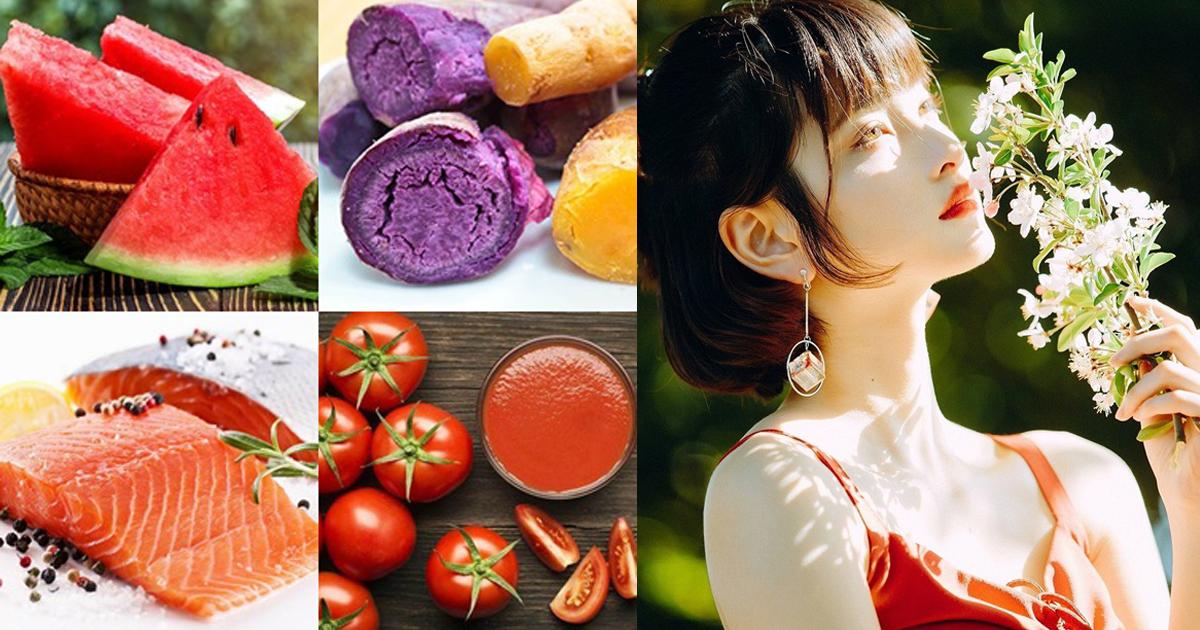 สุดยอด! 8 อาหารผิวช่วยฟื้นฟูและปกป้องจากแดดทำร้าย