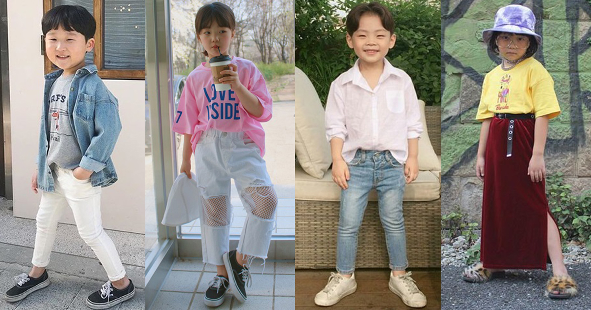 ส่อง!! 30 แฟชั่นหนูน้อยวัยใส Korea Style คิวท์สุดๆ