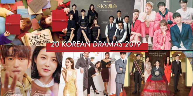 รีวิวจุกๆ 20 ซีรีส์เกาหลีที่ฉายในช่วงครึ่งปีแรก 2019 ดูวนไป!!