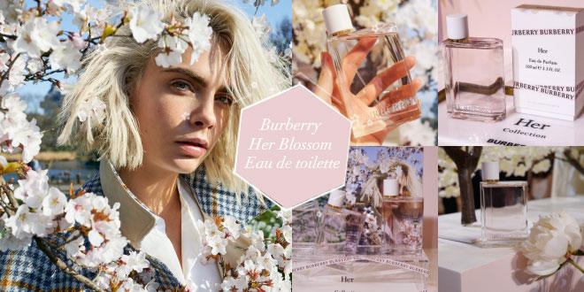 Burberry กลิ่นใหม่ 'Her Blossom Eau de toilette' ผสานความหวานปนเท่ลงตัว