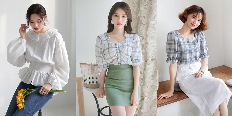30 แฟชั่นเสื้อแขนพอง เปลี่ยนลุคให้เป็นสาวเกาหลี