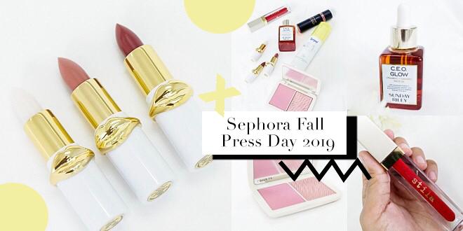 เห่อของใหม่!! 6 ไอเทมน่าซื้อที่ Sephora จากงาน Fall Press Day 2019