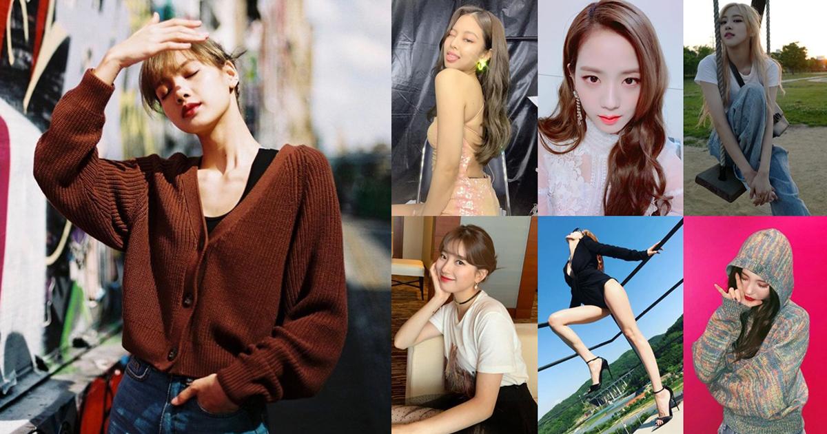 7 ไอดอลเกาหลีกับท่าถ่ายรูปสุดปัง เก็บไว้ทำตามด่วน!