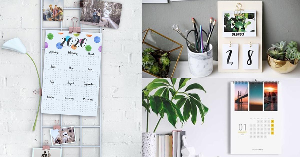 25ไอเดีย DIY ปฏิทินต้อนรับปีใหม่ วางมุมไหนก็สวย