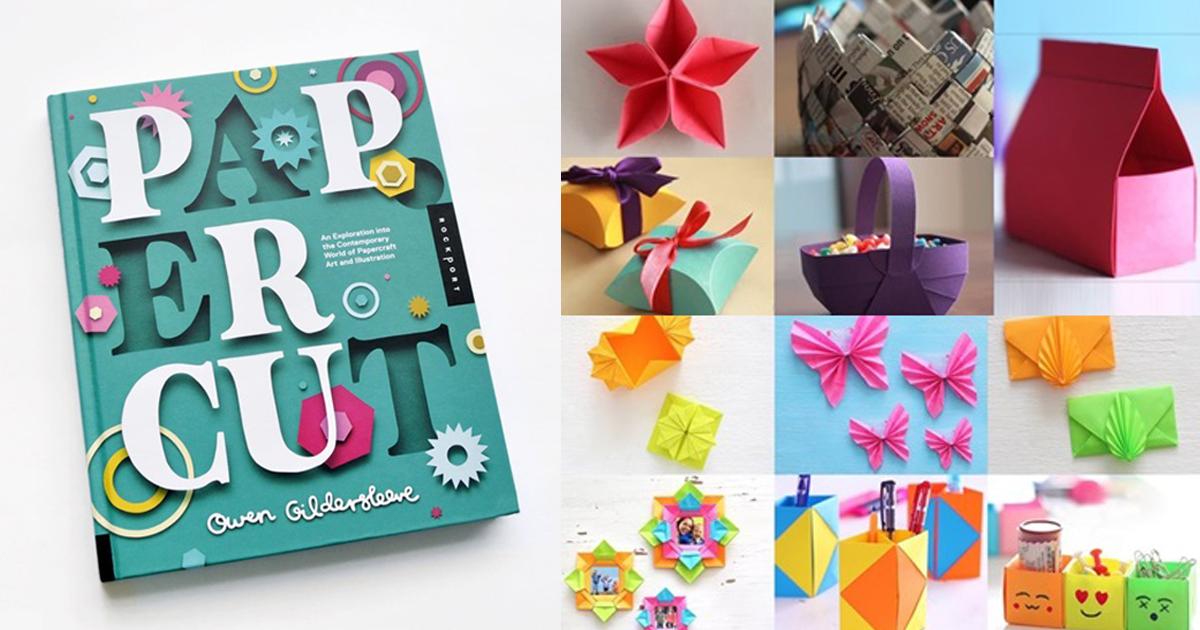 30 ไอเดีย Paper Craft งานอาร์ตน่ารักๆ จากกระดาษสารพัดประโยชน์