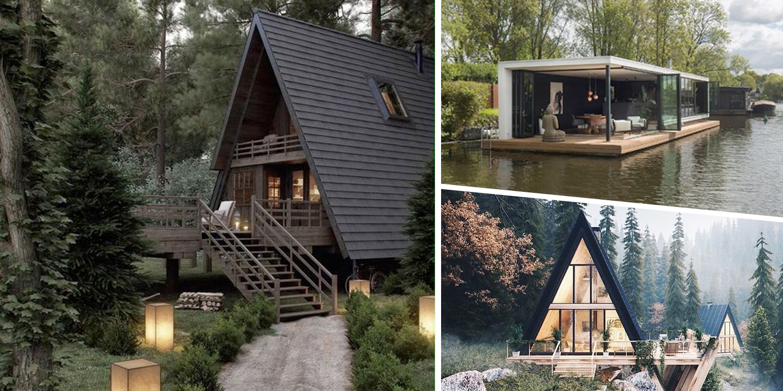 20 ไอเดียบ้านในป่าในสวน สวยร่มรื่นสไตล์รีสอร์ท