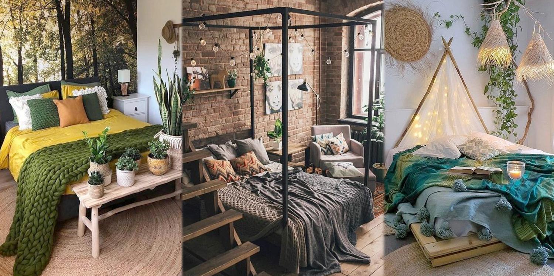 20 ไอเดียตกแต่งห้องนอนโทนอุ่น สไตล์รักธรรมชาติ