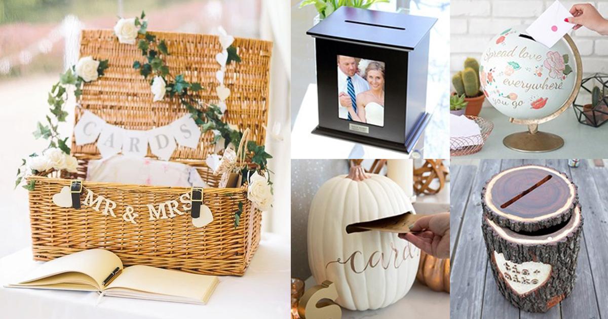 20 DIY กล่องใส่ซองงานแต่ง สวยในแบบไม่ซ้ำใคร