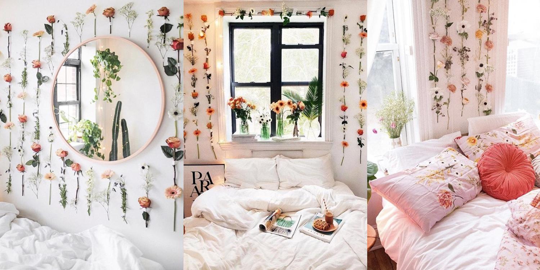 20 ไอเดียแต่งห้องด้วยดอกไม้แห้ง วินเทจแบบมีคลาส