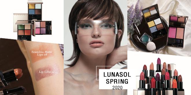 ฤดูใบไม้ผลิมาเยือนแล้ว LUNASOL SPRING 2020 เน้นเมคอัพสีสันสดใสสุดปัง