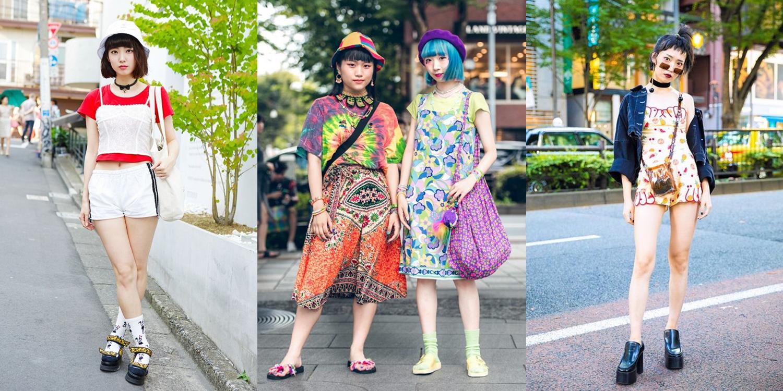 20 ไอเดียแมทช์ชุดโทนสีจี๊ด ๆ รับลมร้อนสไตล์ญี่ปุ่น