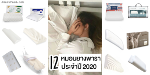 แนะนำ 12 หมอนยางพาราเพื่อสุขภาพใช้ดี!! ประจำปี 2020