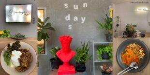 [อะเครุรีวิว]  Sundays! ร้านอาหารสุดเก๋ สำหรับคนชอบงานศิลปะ