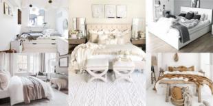 60 ไอเดียห้องนอนสีขาว สไตล์โมเดิร์น เปลี่ยนห้องให้ดูแพง ต้อนรับปีใหม่ 2021